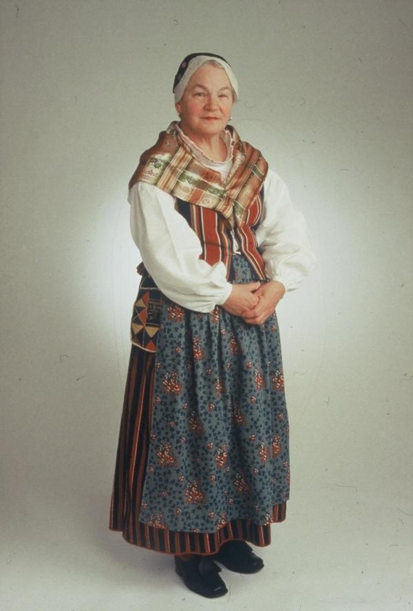 Kvinnlig dräkt Västerfärnebo socken