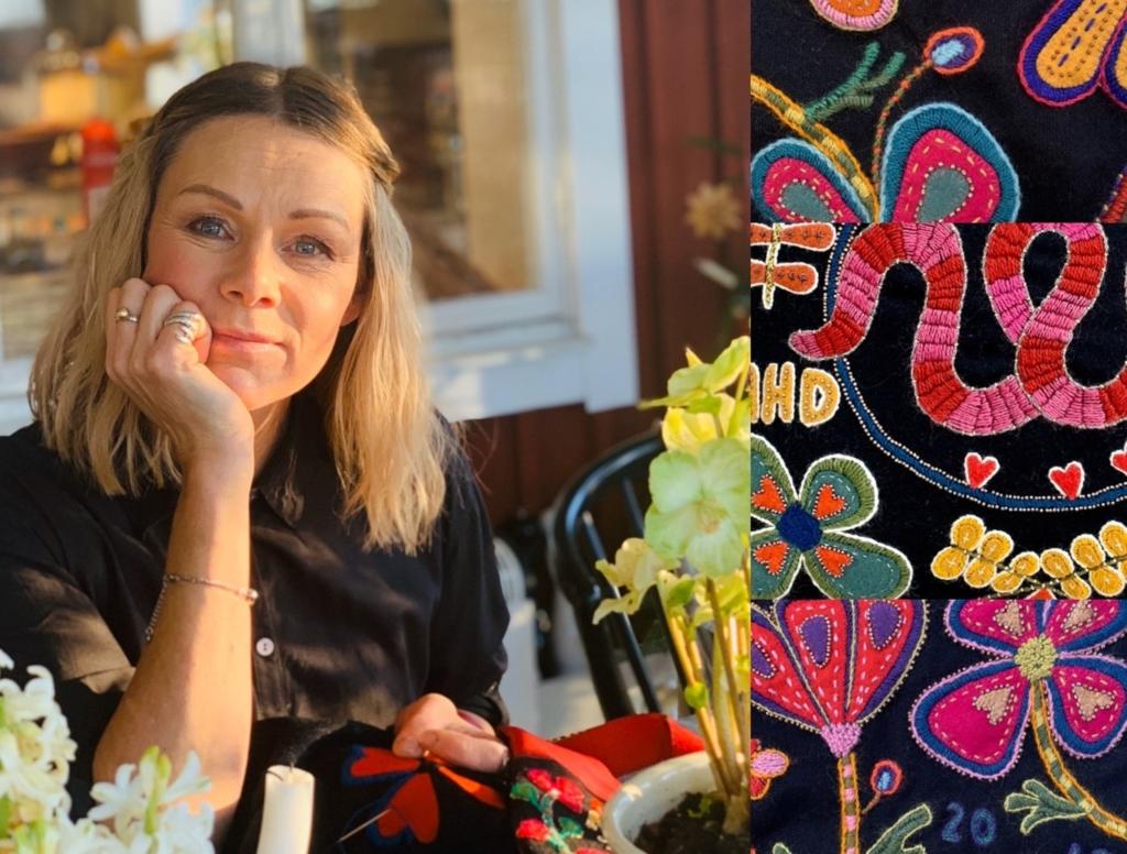 Anna Wengdin, mästarslöjdare och kulturstipendiat 2020.