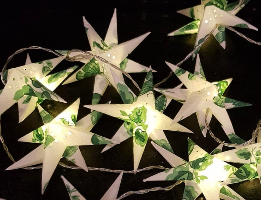 Tygstjärnor från Lenas stjärnor.