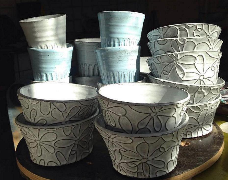 Keramik från Lerapan.